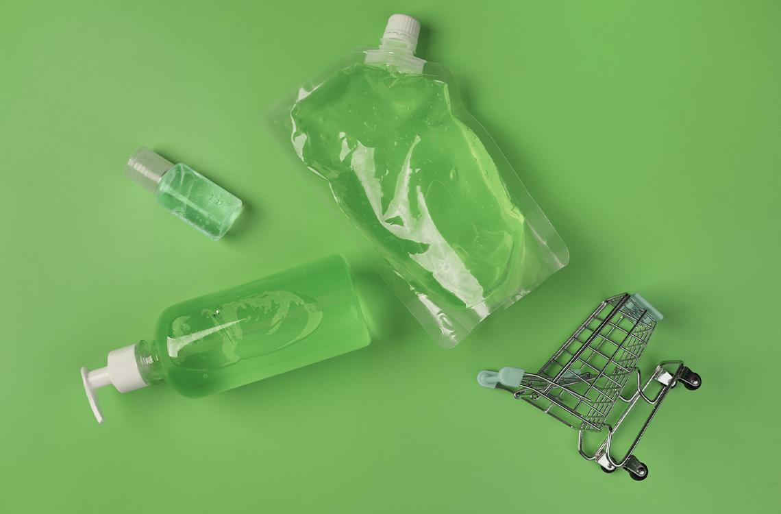 higiene em supermercados na pandemia