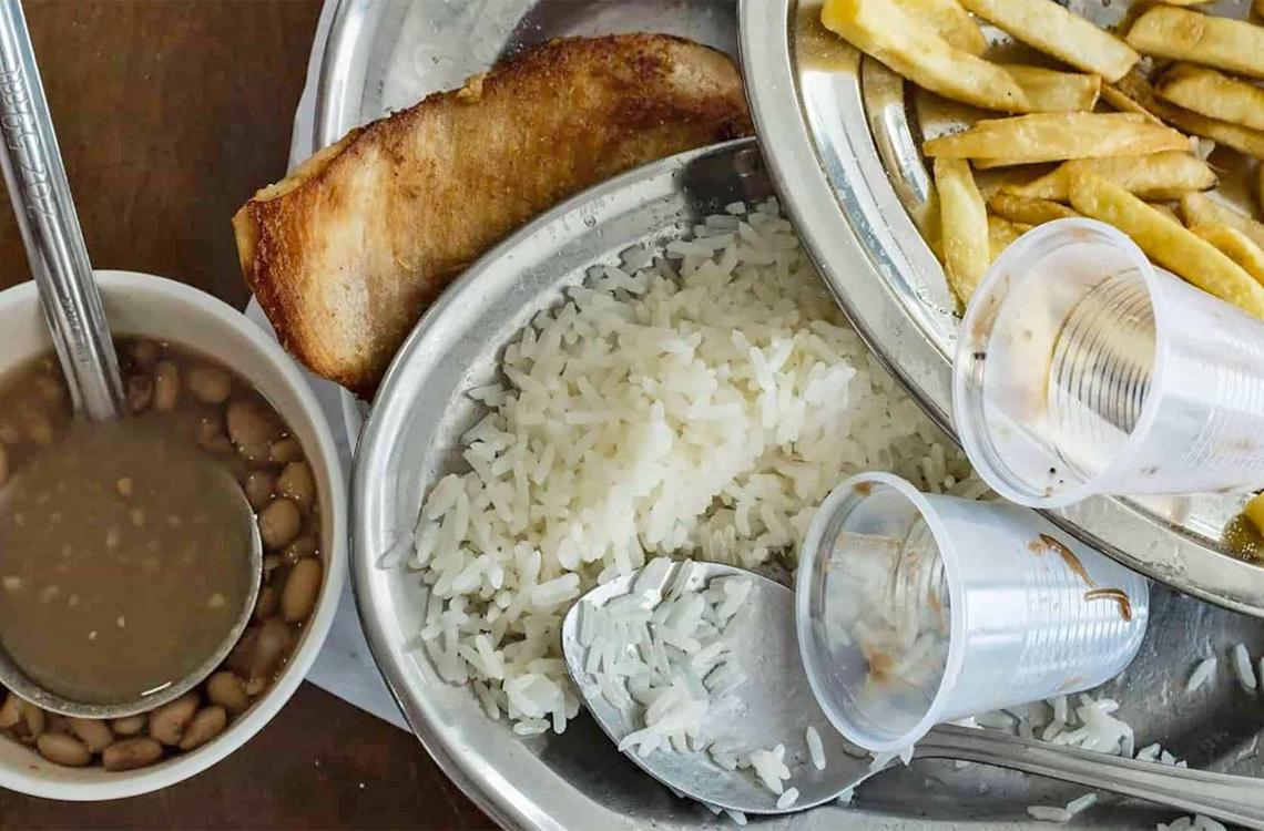 desperdício de alimentos restaurantes e hoteis